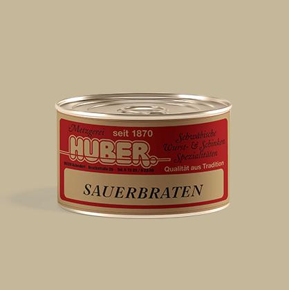 Fertiggericht Sauerbraten Dose