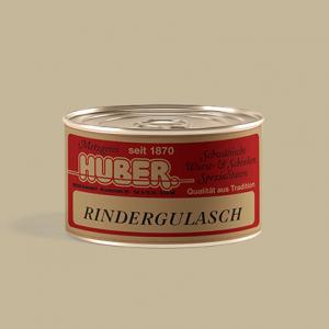 butcher shop huber | Beef goulash 390g |Rindergulasch